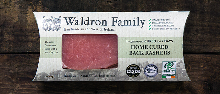 home cured back rashers