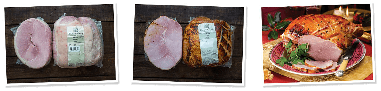 wiltshire cooked ham and wiltshire baked ham